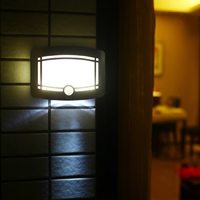 Motion Sensor Activated Battery Operated LED Wall Sconce